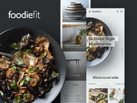 Foodiefit Mobile Homepage