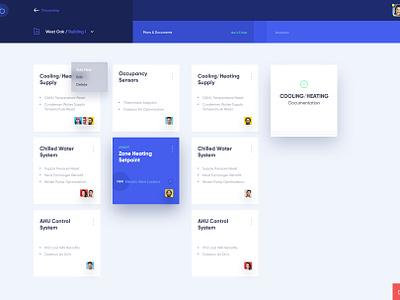 Onboarding Process Dashboard design corporate ui ux digital management app buildings documents dashboard ux ui business website