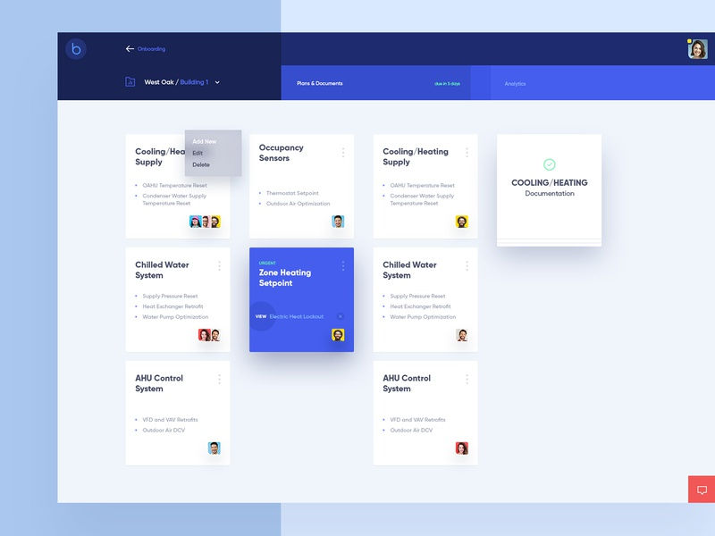 Onboarding Process Dashboard design corporate ui ux digital management app buildings documents dashboard ux ui business website