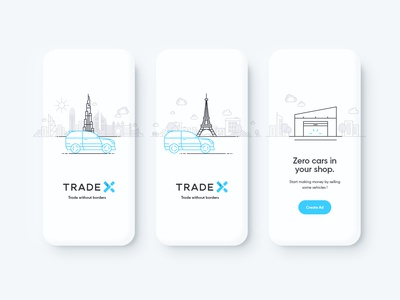 Trade X Illustrations