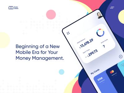 Wallet App Website Exploration