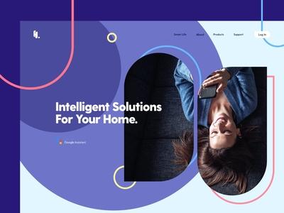 Smart Home Appliances Website v.2