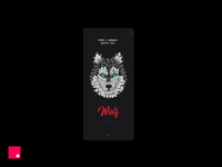 InVision Studio Jam - Inner Animal video owl wolf animal transitions microanimation jam illustration ui gif app animation invision invision studio invisionapp invisionstudio