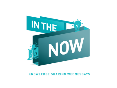 In The Now - Knowledge Sharing Event Logo