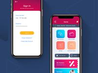 Mobile Wallet App UI