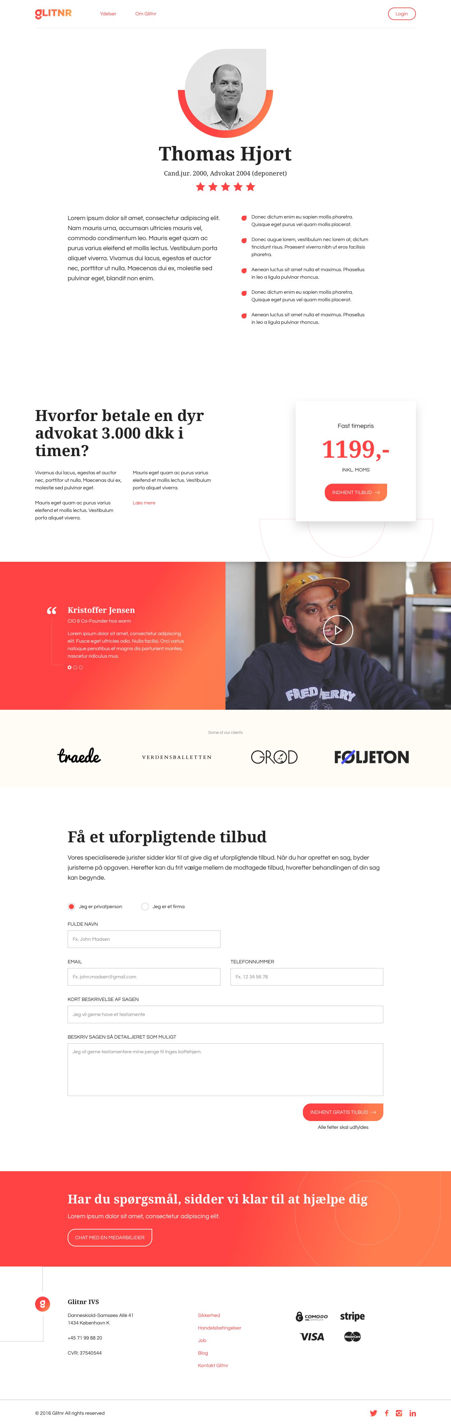 Glitnr profile