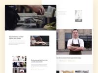 Foodscene - Landing Page