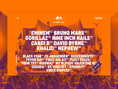 Roskilde Lineup Landing Page 01