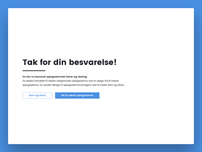 Hold Hjernen Frisk - Completion research collection study university ux data ui web design mobile responsive