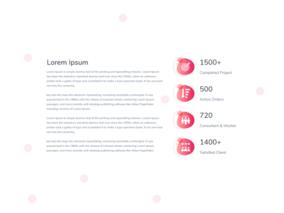 Counter Element - 3 for Web Templates
