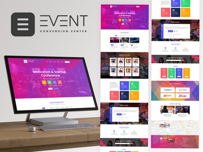 Event Template for Web Design