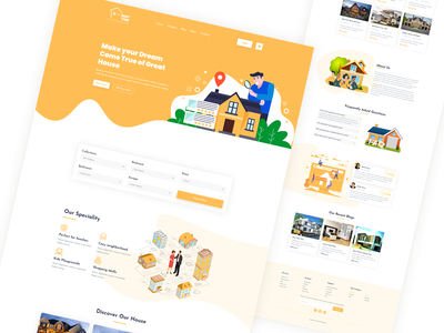 RentTime | Home Rental Web Template
