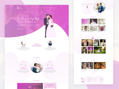 MarryMe | Wedding Web Template
