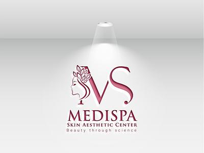 Skin Care Logo Design 3d logo 3d art mockup psd vector minimal logo illustration icon flat design branding