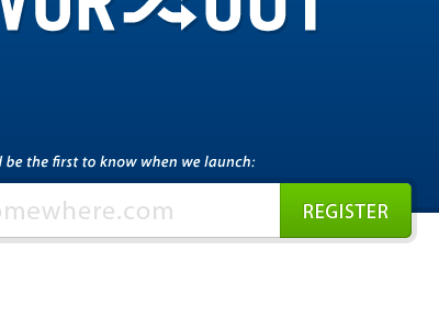 Register form register holding