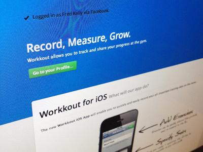 App Splash app arty blue web app rails