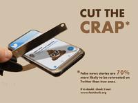 Cut the Crap - PSA Poster