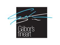 Gábor's Fineart - logo, 2014