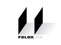 falak.hu (walls) - logo, 2015