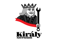 Király szerszám (King Tools) - logo, 2016