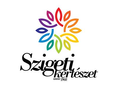 Szigeti Kertészet - logo, 2016 logo