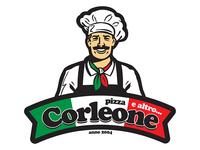 Pizza Corleone - logo, 2016