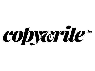 copywrite.hu - logo, 2017 logo