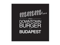 Downtown Burger, Budapest - logo, 2018