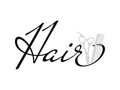 Hair 11 Hairdresser Studio - logo, 2019 logo