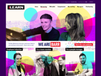 iLearn LMS design refresh take 2