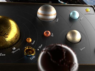 Solar System Cryptocandy for Elon Musk solar system candy box chocolate cryptocandy musk elon
