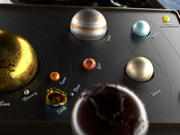 Solar System Cryptocandy for Elon Musk