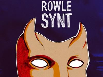Book cover Rowle Synt bo-danique illustration cover design cover art book illustration book design book cover book