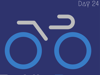 Bicycle logo design concept logodlc illustration design dailylogo logoconcept daily 100 challenge 30daychallenge logo branding logochallenge dailylogochallenge