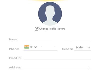 User Profile UI Design dailyui