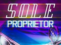 Sole Proprietor Cover Art