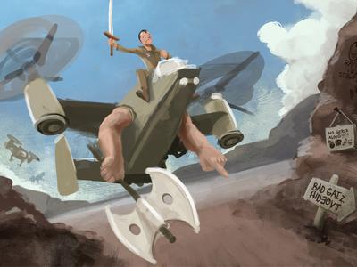 Ryan Rides to War