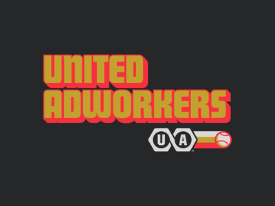 Adworkers Softball Alternate Graphic