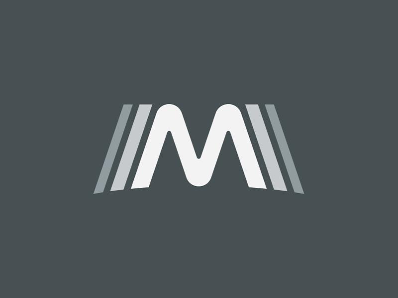 Mystery Room Mastering pt. 1 echo reverb wave sound brand identity symbol icon logo mastering room mystery