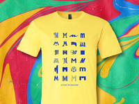 M is for milwaukee shirt 2 yellow