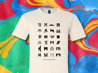 M is for milwaukee shirt 3 cream