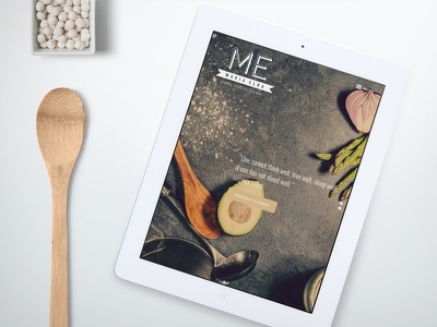 Maria Elba Food Professional Website web development web design graphic design wodpress chef kitchen food website responsive