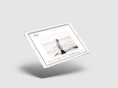 Urquisa Vicente Photographer Website web development web design graphic design wodpress photography website responsive