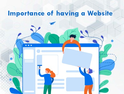 Importance of having a Website. website design company