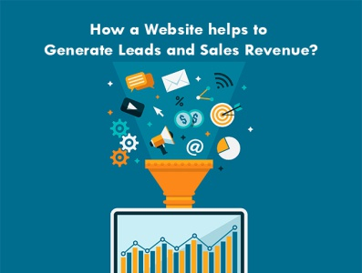 How a Website helps to generate leads sales revenue website design company