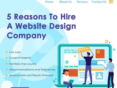 5 reasons to hire a website design company in Kolkata website design company