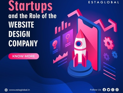 Startups and the role of the website design company in Kolkata website design company website design website