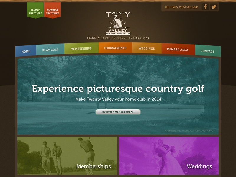Twenty Valley Golf & Country Club website golfing golfcourse golf