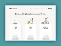 Church Social pricing page
