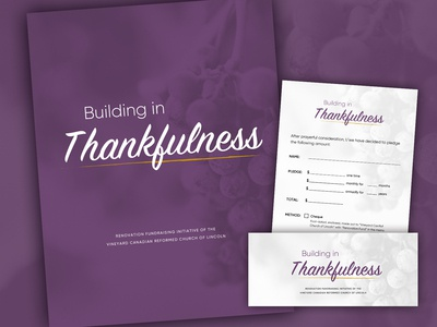 Building in Thankfulness